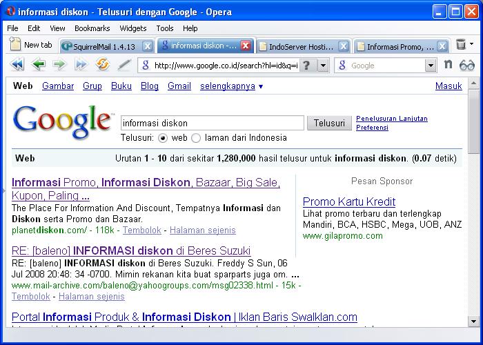 google co n: